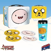 Adventure Time Finn and Jake Tin Tote Gift Set