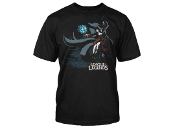League of Legends Ahri Original Splash Art T-Shirt