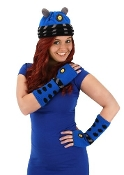 Dalek Arm Warmers (Blue)