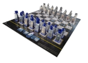 Doctor Who Animated Lenticular Chess Set Board Game