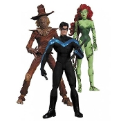 Batman Hush Scarecrow, Nightwing & Poison Ivy Figure Set