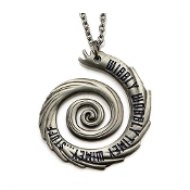Doctor Who Vortex Pendant with Lobster Clasp Chain Necklace