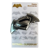 Batman v Superman: Dawn of Justice Deluxe Pewter Lapel Pin