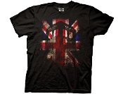 DOCTOR WHO MENS GLOWING TARDIS UNION JACK