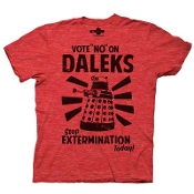 DOCTOR WHO VOTE NO ON DALEKS