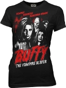 BUFFY THE VAMPIRE SLAYER RETRO STYLE POSTER