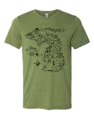 LORD OF THE MICHIGAN UNISEX TEE