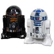 Star Wars, R2D2, Salt and Pepper Shakers