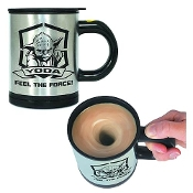 Star Wars Yoda Feel The Force Self-Stirring Mug