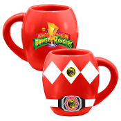 Power Rangers 18 oz. Ceramic Oval Mug  1