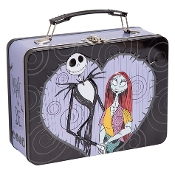 The Nightmare Before Christmas Jack & Sally Large Tin Tote