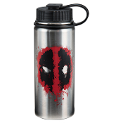Marvel Deadpool 18 oz. Vacuum Insulated Stainless Steel Bottle