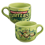 Teenage Mutant Ninja Turtles 20 oz. Ceramic Soup Mug  0