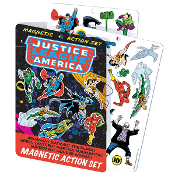 JUSTICE LEAGUE MAGNETIC PLAY SET
