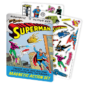 SUPERMAN MAGNETIC PLAY SET