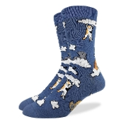 Cats and Clouds Socks